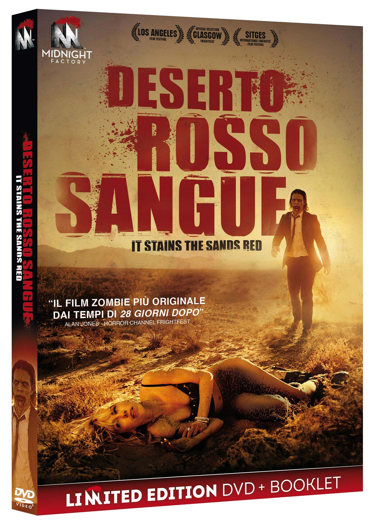 DESERTO ROSSO SANGUE (LTD EDITION) (DVD+BOOKLET) (DVD)