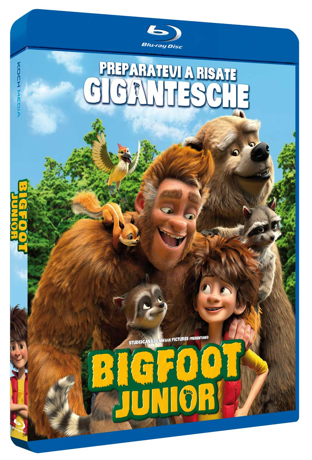 BIGFOOT JUNIOR - BLU RAY