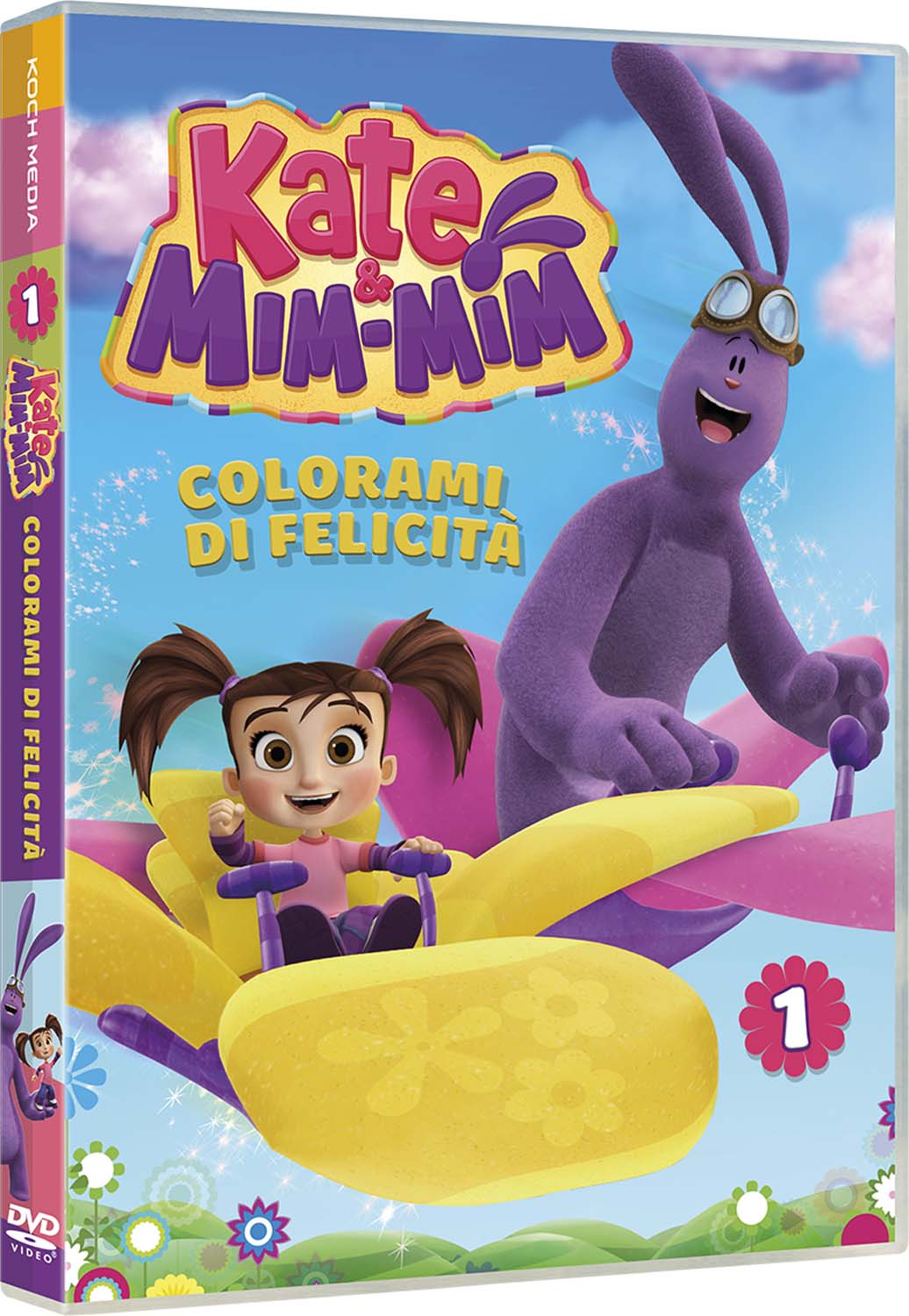 KATE & MIM-MIM #01 - COLORAMI DI FELICITA' (DVD)