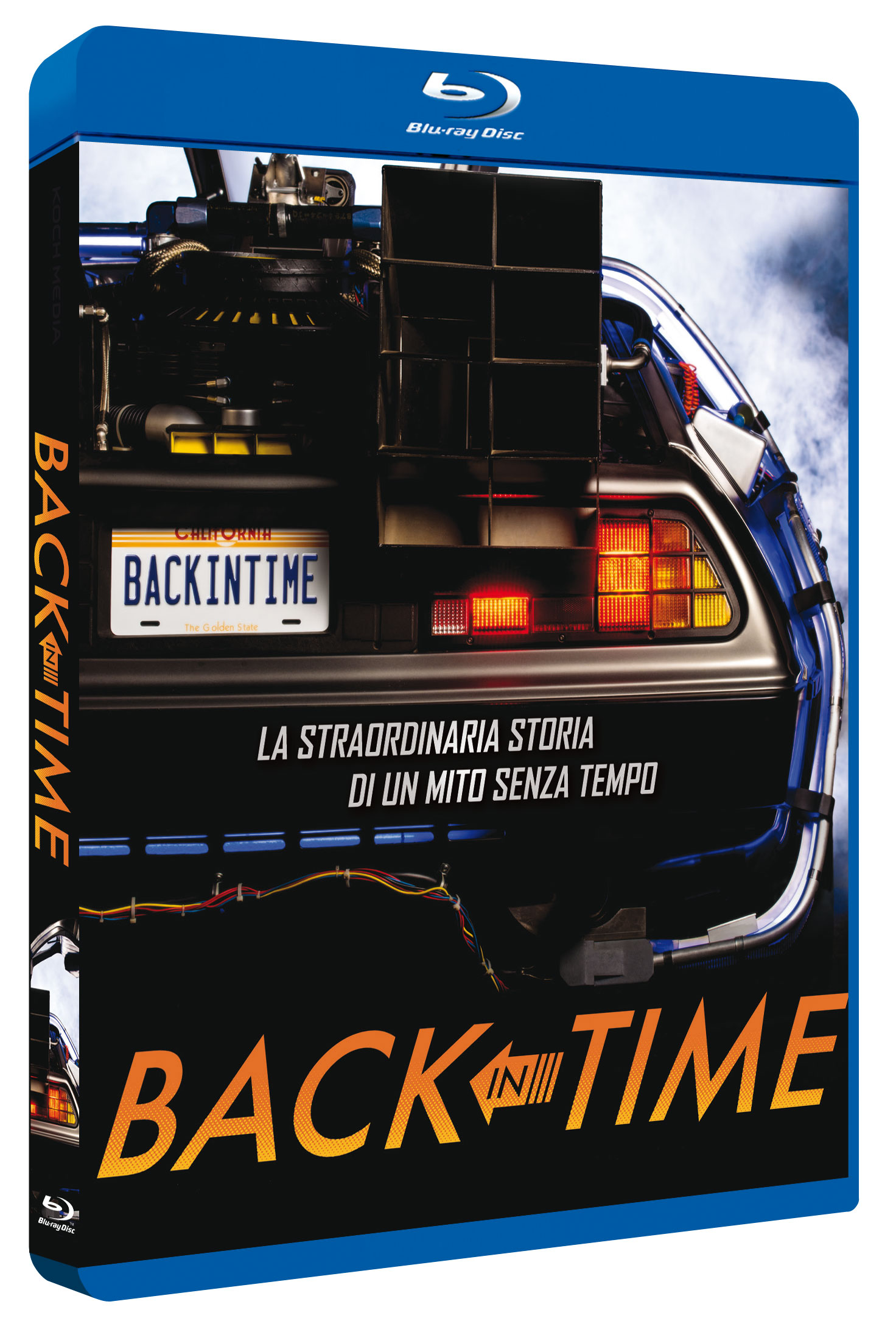 BACK IN TIME - BLU RAY