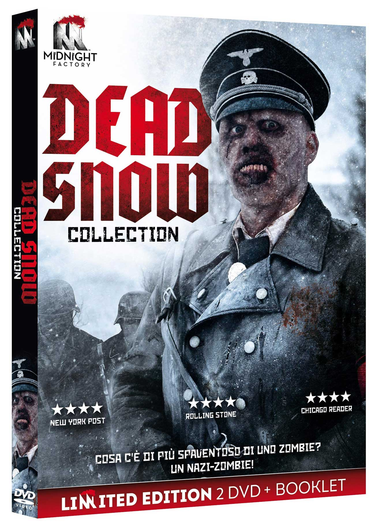 DEAD SNOW COLLECTION (LTD EDITION) (2 DVD+BOOKLET) (DVD)