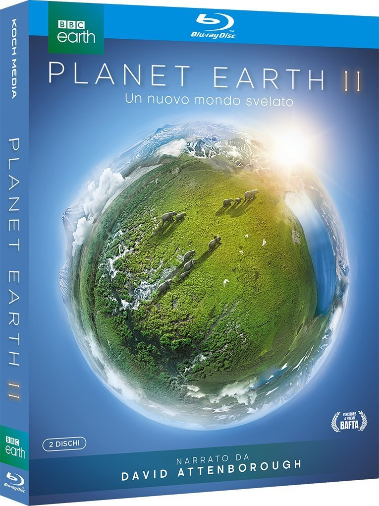 COF.PLANET EARTH II (2 BLU-RAY)