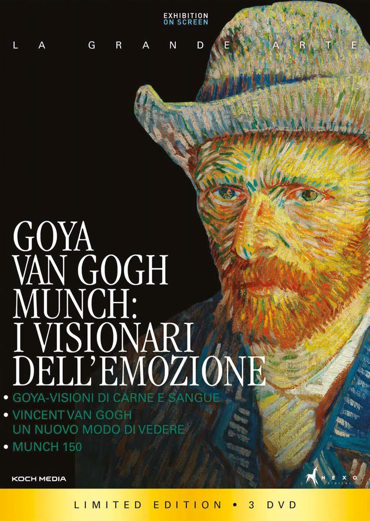 COF.GOYA, VAN GOGH, MUNCH I VISIONARI DELL'EMOZIONE (3 DVD) (DVD