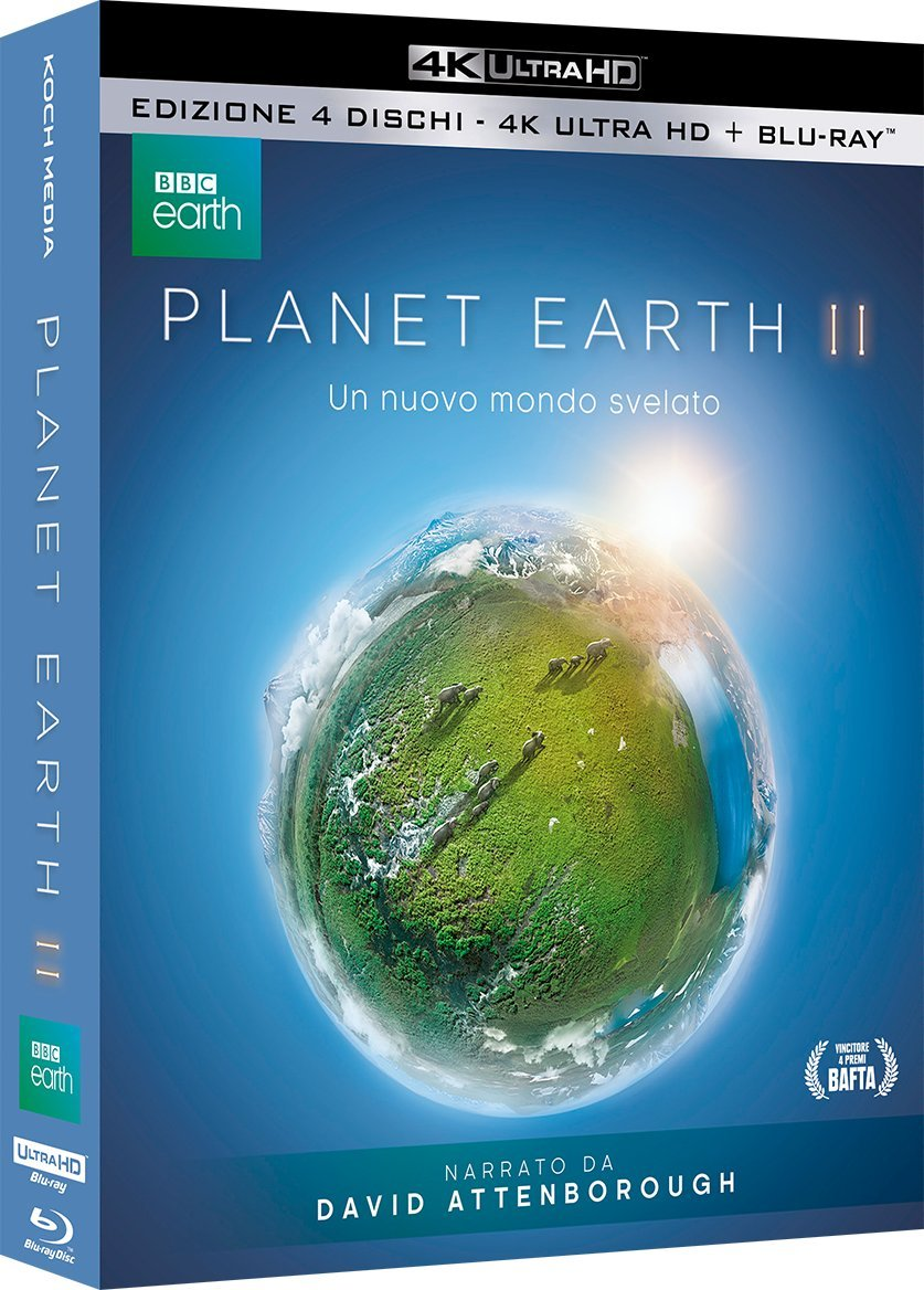 COF.PLANET EARTH II (BLU-RAY 4K+BLU-RAY)