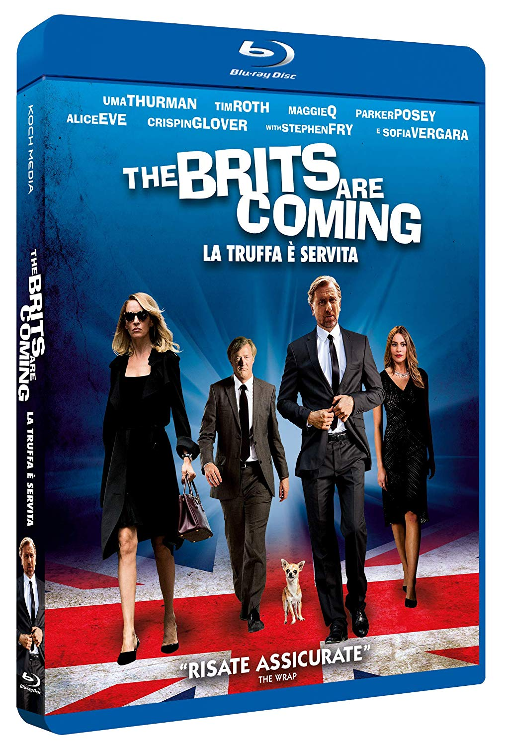 THE BRITS ARE COMING - LA TRUFFA E' SERVITA - BLU RAY