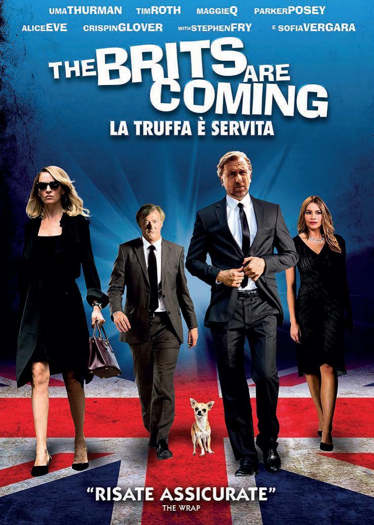 THE BRITS ARE COMING - LA TRUFFA E' SERVITA (DVD)