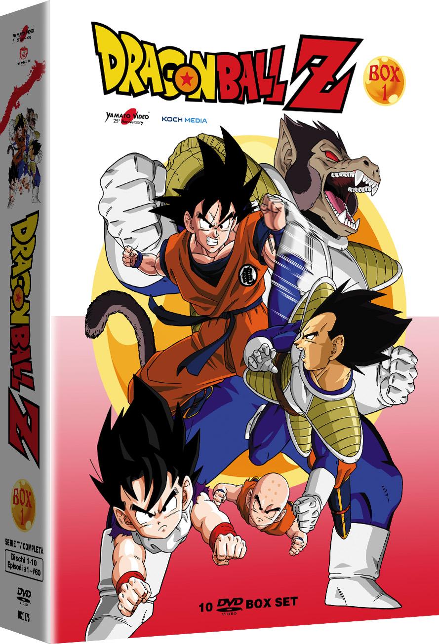 COF.DRAGON BALL Z #01 (10 DVD) (DVD)