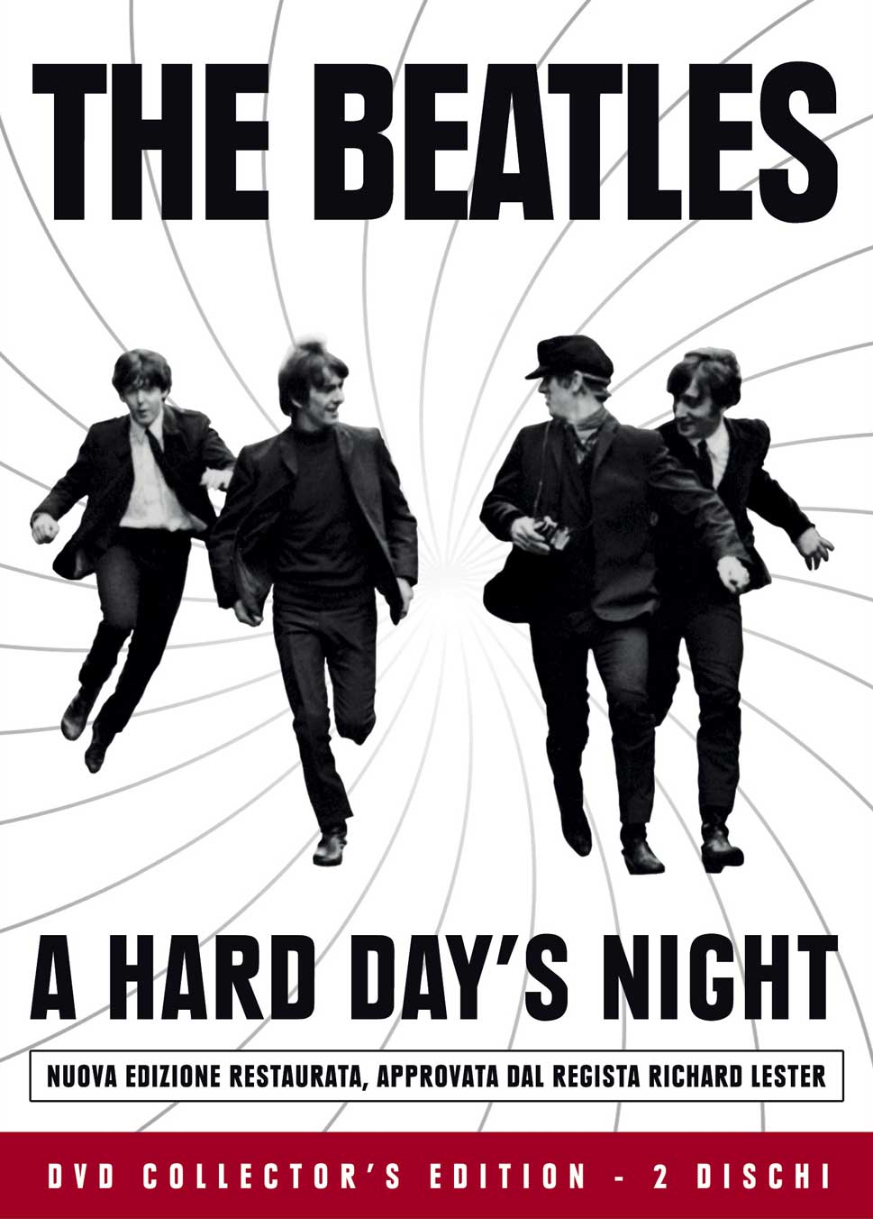 THE BEATLES - A HARD DAY'S NIGHT (CE) (2 DVD+BOOKLET) (DVD)