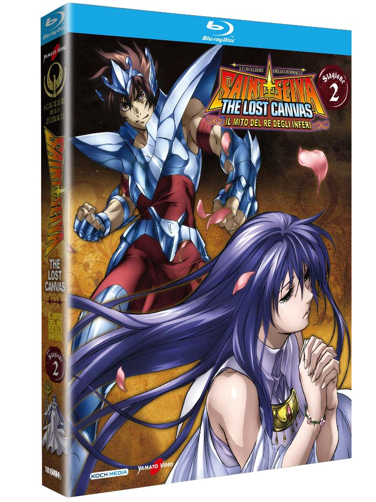 COF.I CAVALIERI DELLO ZODIACO - THE LOST CANVAS #02 (32 BLU RAY