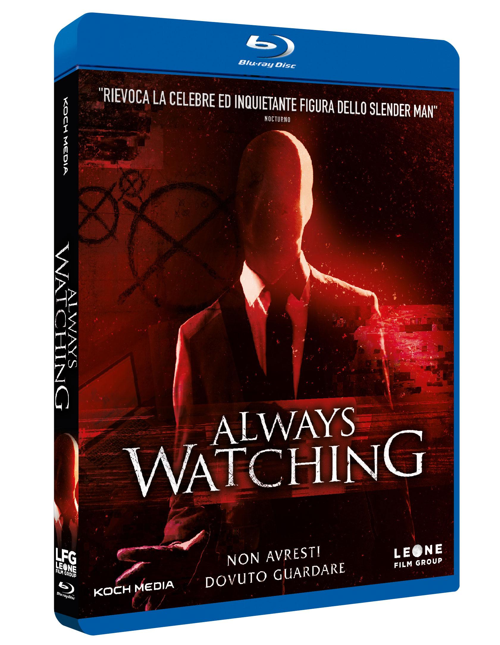 ALWAYS WATCHING - BLU RAY