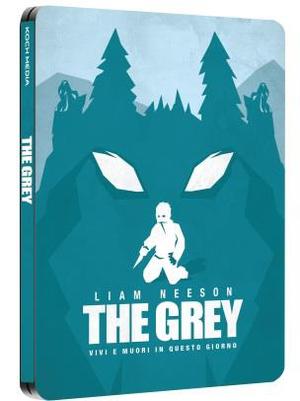 THE GREY (LTD STEELBOOK) (DVD)