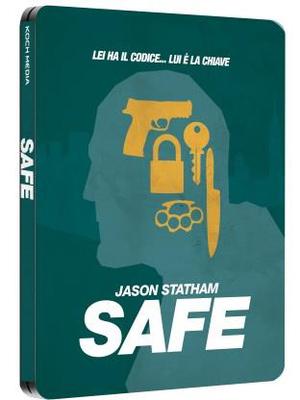 SAFE (LTD STEELBOOK) (BLU RAY)