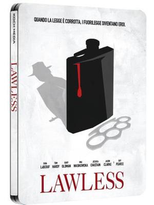LAWLESS (LTD STEELBOOK) (DVD)
