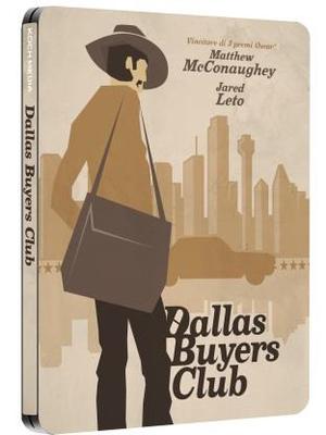 DALLAS BUYERS CLUB (LTD STEELBOOK) (DVD)