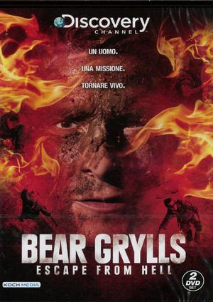 COF.BEAR GRYLLS - ESCAPE FROM HELL (2 DVD) (DVD)