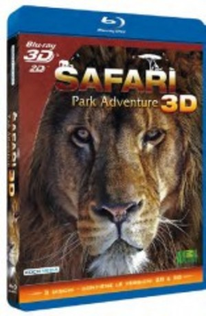 SAFARI PARK ADVENTURE 3D (3 BLU-RAY 3D)