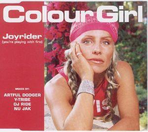 COLOUR GIRL - JOYRIDER (CD)