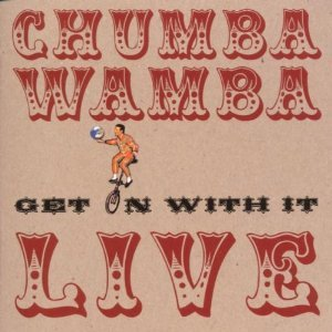 CHUMBAWAMBA - GET ON WITH IT. LIVE (CD)