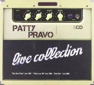 PATTY PRAVO - LIVE COLLECTION -5CD (CD)