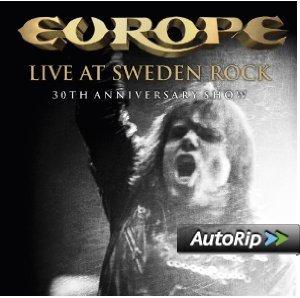 EUROPE - LIVE AT SWEDEN ROCK -2CD (CD)