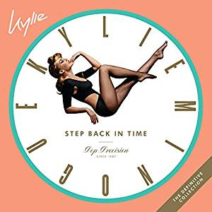 KYLIE MINOGUE - STEP BACK IN TIME: THE DEFINITIVE COLLECTION (DI