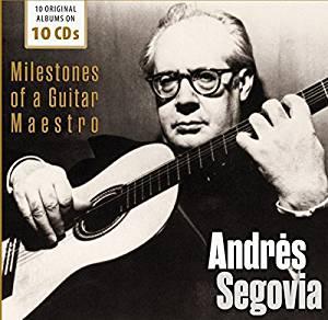 ANDRIS SEGOVIA - MILESTONES OF A GUITAR MAESTRO -10CD (CD)
