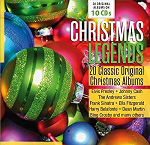 CHRISTMAS LEGENDS - 20 CLASSIC ORIGINAL CHRISTMAS ALBUMS COFANET