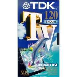 TDK E 120 TV VIDEO CASSETTE