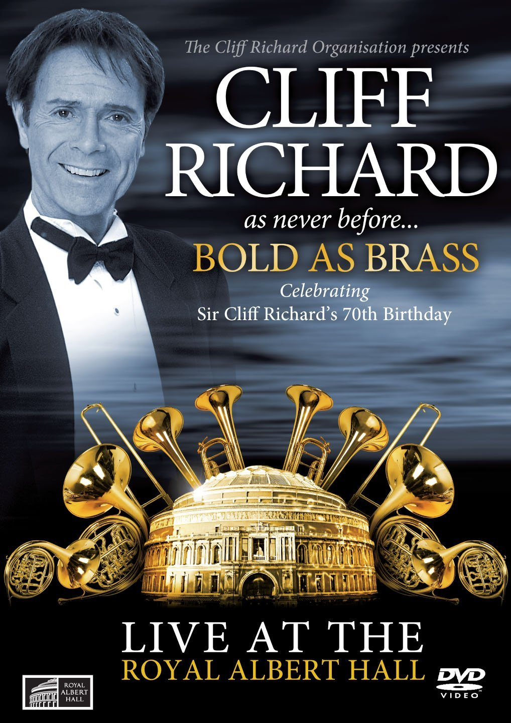 CLIFF RICHARD - BOLD AS BRASS (DVD)