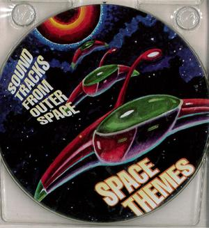 SONDTRACKS FROM OUTER SPACE - SPACE THEMES (METAL BOX) (CD)