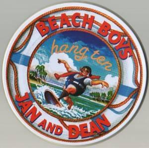 BEACH BOYS E JAN AND DEAN - HANG TEN (METAL BOX) (CD)