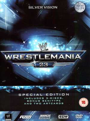 COF.WWE - WRESTLEMANIA 23 (TIN BOX) (3 DVD) (IMPORT) (DVD)