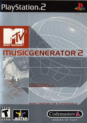 MTV MUSIC GENERATOR 2 PS2