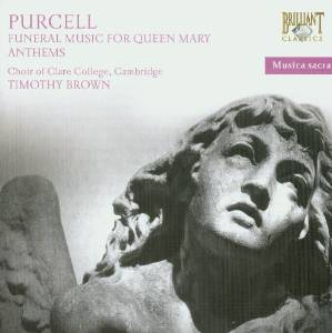 HENRY PURCELL - FUNERAL MUSIC FOR QUEEN MARY CLASSICA (CD)
