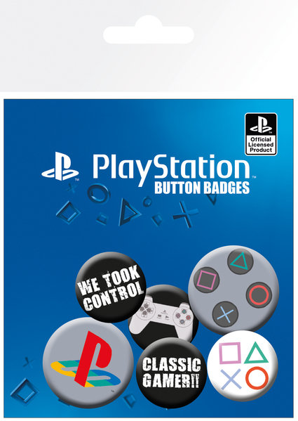 PLAYSTATION - CLASSIC (BADGE PACK)
