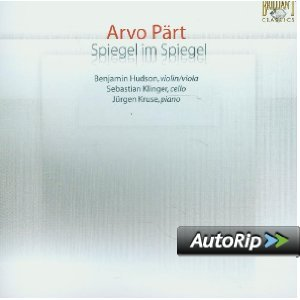 ARVO PART - SPIEGEL IM SPIEGEL (CD)