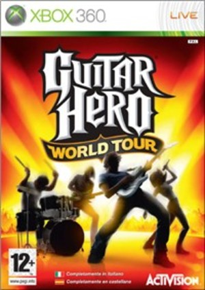 GUITAR HERO WORLD TOUR XBOX360