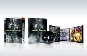 CALL OF DUTY MODERN WARFARE 2 STEELBOOK XBOX360