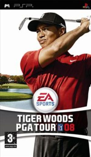 TIGER WOODS PGA TOUR 08 PSP