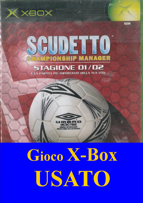 SCUDETTO CHAMPIONSHIP MANAGER: STAGIONE 01/02 XBOX