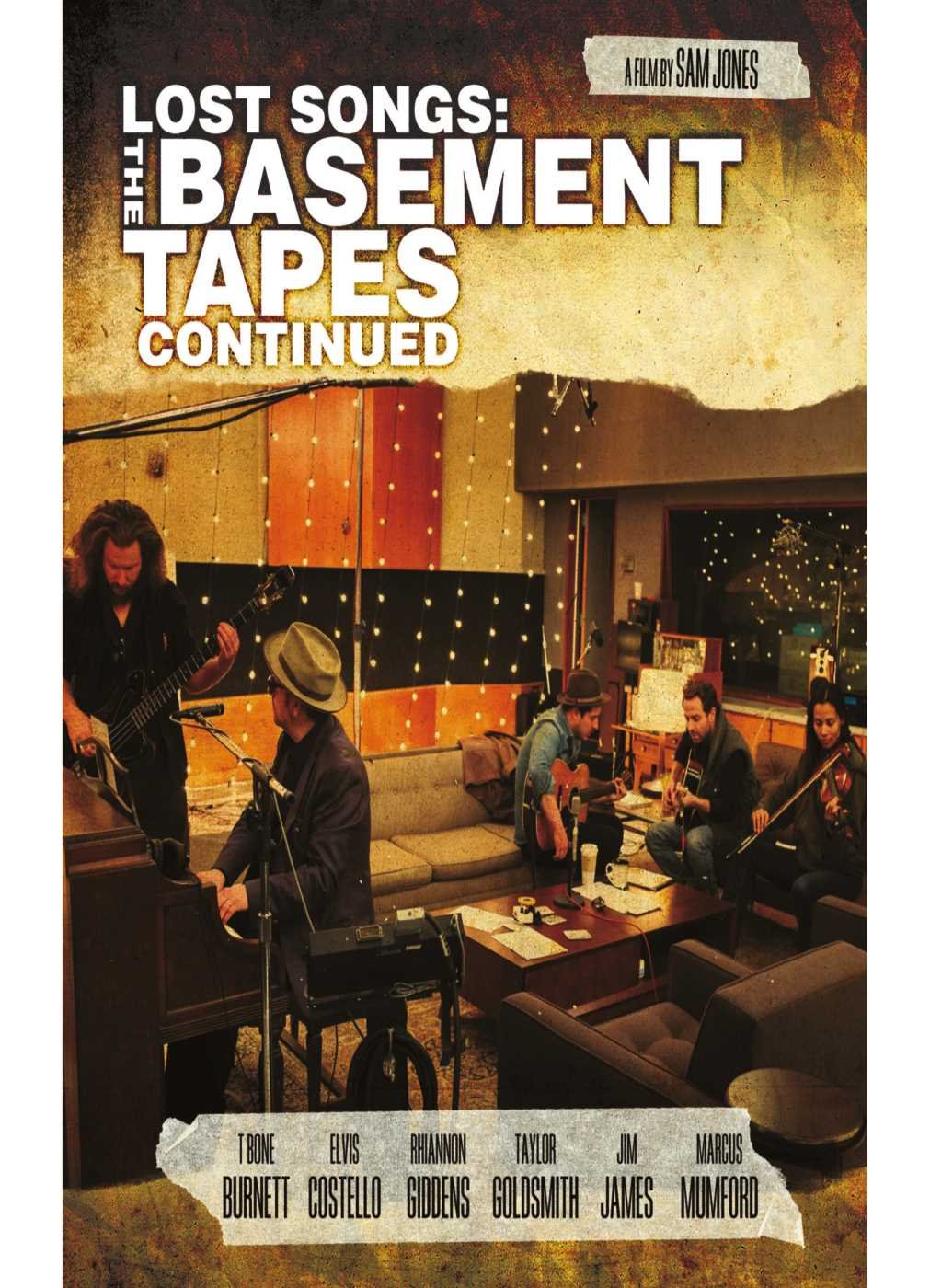 LOST SONGS THE BASEMENT TAPES (DVD)