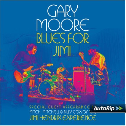 GARY MOORE - BLUES FOR JIMI (LP)