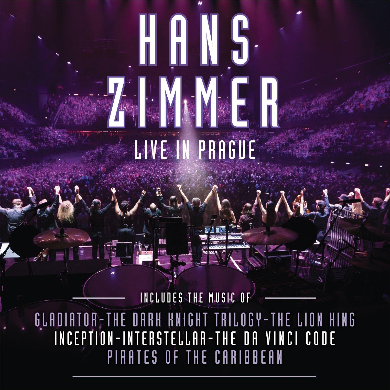 HANS ZIMMER - LIVE IN PRAGUE-LTD. (4 LP) (LP)