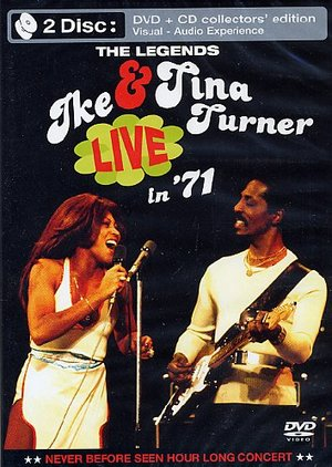 IKE & TINA TURNER - THE LEGENDS LIVE IN 1971 (DVD+CD) (DVD)