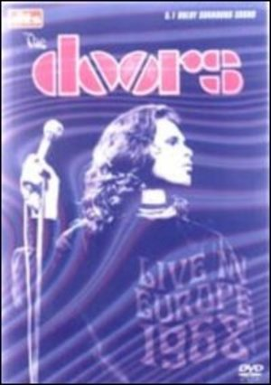 THE DOORS - LIVE IN EUROPE: 1968 DTS (DVD)