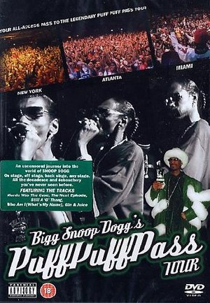 SNOOP DOGG'S PUFF PUFF PASS TOUR (DVD)