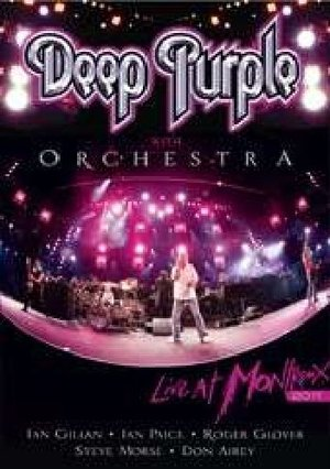 DEEP PURPLE - EHIT ORCHESTRA LIVE AT MONTREAUX 2011 (DVD)