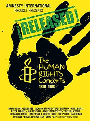 RELEASED! - THE HUMAN RIGHTS CONCERTS 1986-1998 -6 DVD) (DVD)
