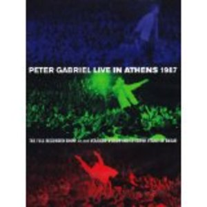 PETER GABRIEL - LIVE IN ATHENS 1987 (2DVD) (DVD)
