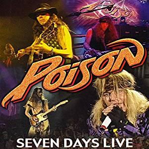 POISON - 7 DAYS LIVE 2CD (CD)